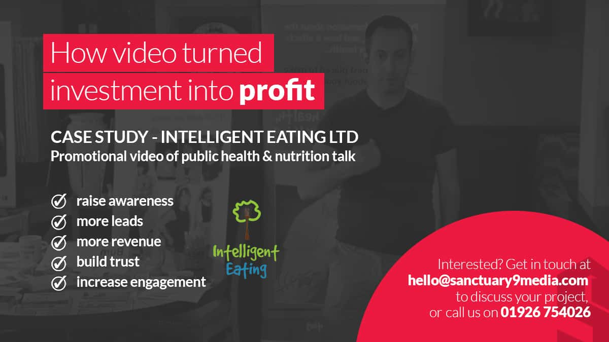 Intelligent Eating - How video turned investment into profit